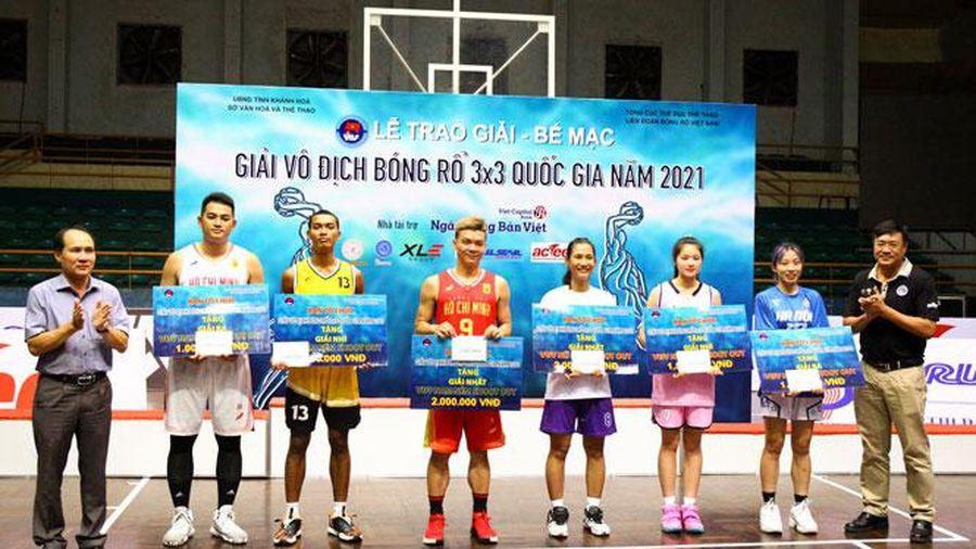Bóng rổ Hà Nội vượt chỉ tiêu huy chương tại các Giải vô địch quốc gia năm 2021