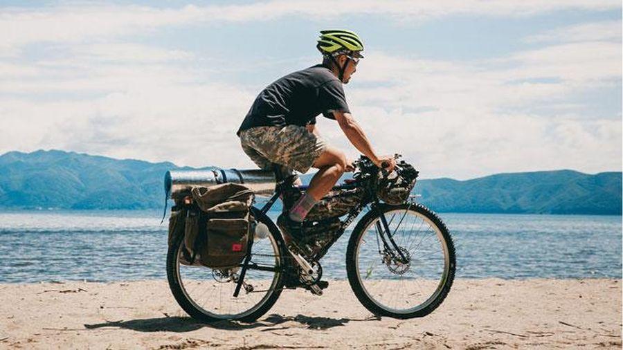 Cách sắp xếp hành lý khi đi dã ngoại bằng xe đạp