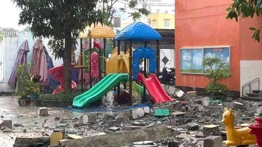 Thành phố Hồ Chí Minh: Vụ tường đổ tại trường mầm non là do tường chịu lực kém