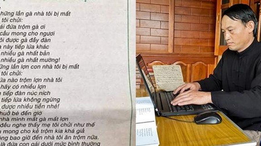 Người trong cuộc lý giải sự xứng đáng của bài thơ 'Mẹ tôi chửi kẻ trộm' gây tranh cãi