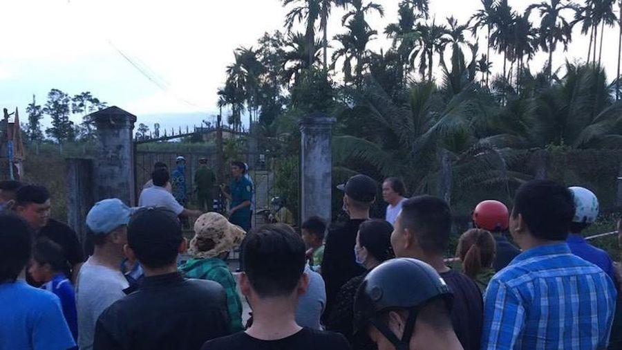 Nguyên trưởng Công an huyện ở Quảng Ngãi bị em ruột chém