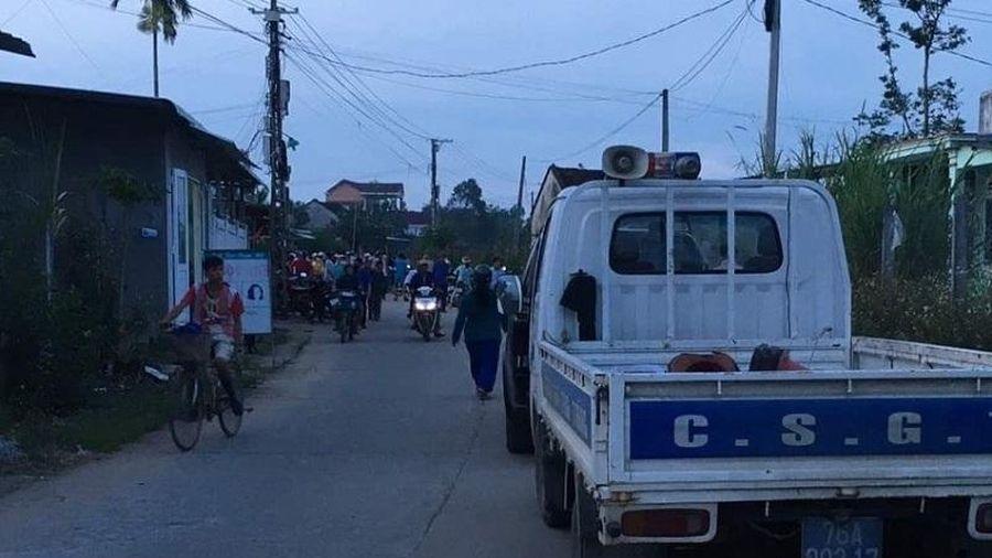 Nguyên trưởng công an huyện ở Quảng Ngãi tử vong, nghi do bị em trai sát hại