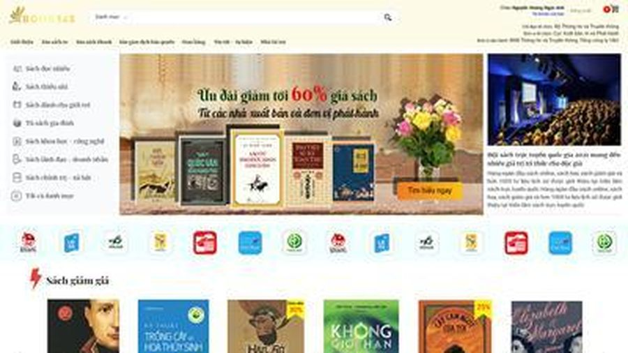 Khai mạc Hội sách trực tuyến quốc gia Việt Nam 2021