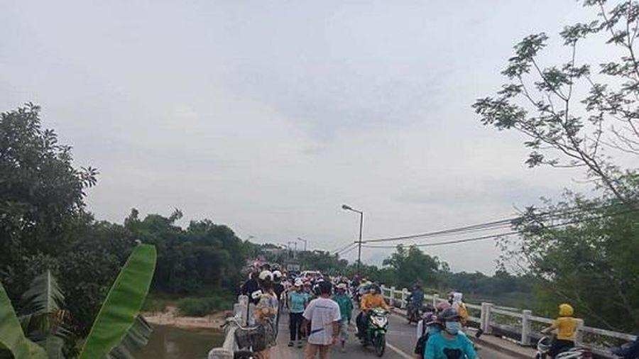 Tìm thấy thi thể nam sinh lớp 10 nhảy cầu tự tử ở Quảng Nam