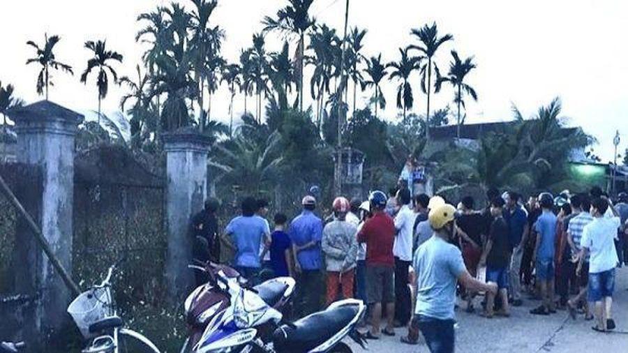 Quảng Ngãi: Nguyên Trưởng Công an huyện bị chém tử vong