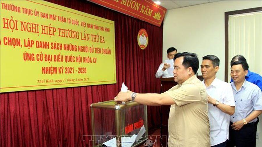 Thái Bình:Chốt danh sách người đủ tiêu chuẩn ứng cử đại biểu Quốc hội và HĐND