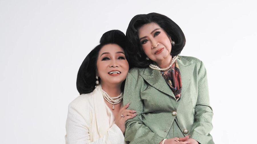 Ngưỡng mộ tình bạn 60 năm bền chặt của NSND Bạch Tuyết và NSƯT Diệu Hiền