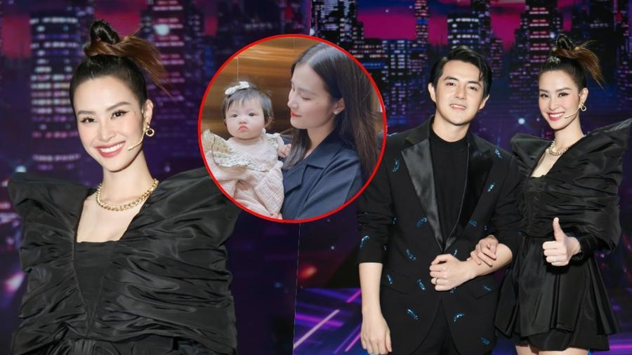'Cất' bé Winnie ở nhà, vợ chồng Ông Cao Thắng tham gia GHVN New Generation: Mẹ bỉm Đông Nhi đẹp xuất sắc!