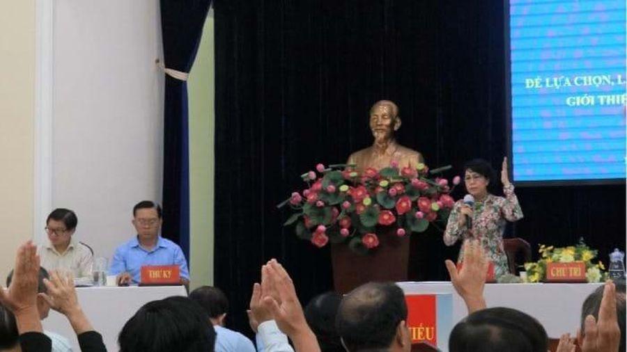 TP.HCM chốt danh sách 38 người ứng cử đại biểu quốc hội