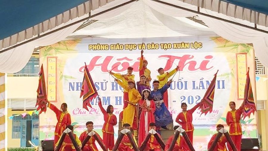 Huyện Xuân Lộc: Tổ chức hội thi 'Nhà sử học nhỏ tuổi' lần II