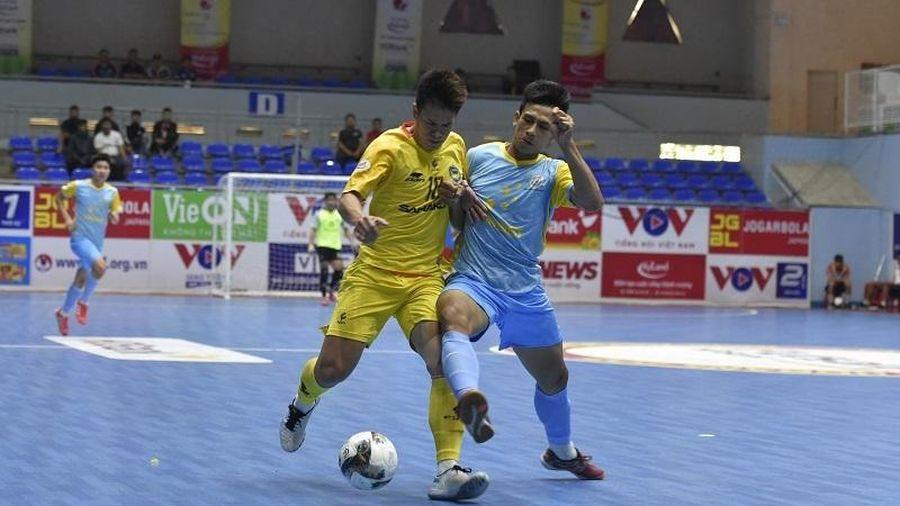 Futsal HDBank VĐQG 2021: Ba đội chia nhau ngôi đầu