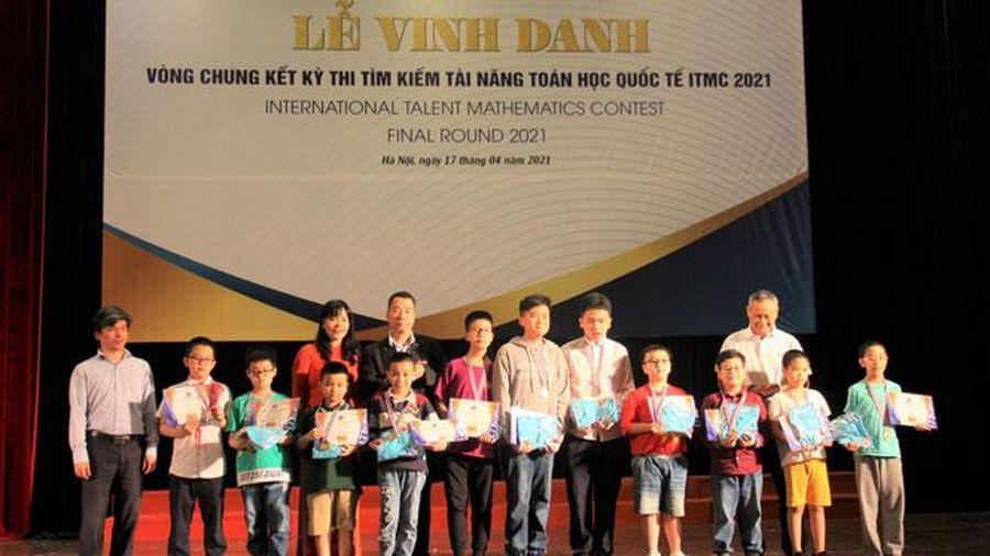 16 học sinh giành Huy chương vàng thi tìm kiếm tài năng toán học quốc tế