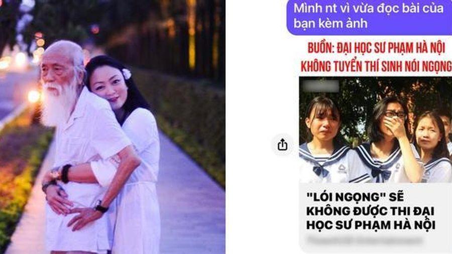 Cô Văn Thùy Dương bức xúc vì ảnh học trò khóc bị fanpage nổi tiếng lấy làm ảnh minh họa