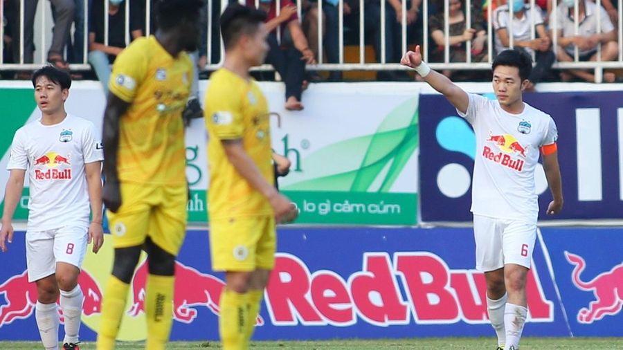 Xuân Trường 'xé lưới' Hà Nội FC, HAGL thắng trận thứ 6 liên tiếp