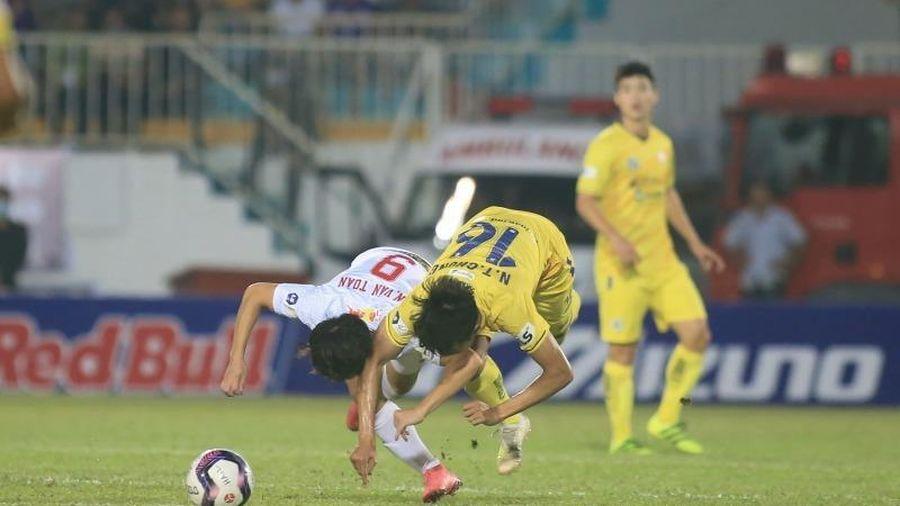 Vòng 10 V- League: HA Gia Lai thắng Hà Nội sau 4 năm