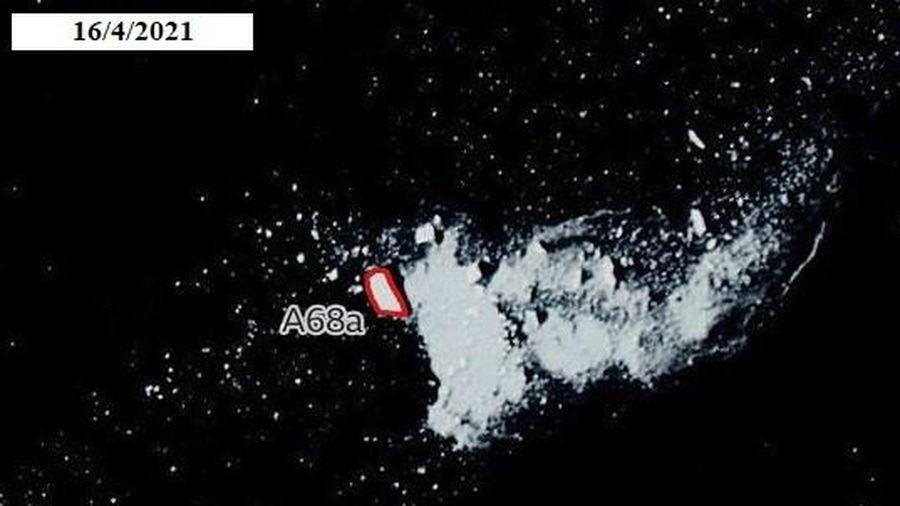 Ảnh vệ tinh cho thấy núi băng trôi lớn nhất thế giới biến mất