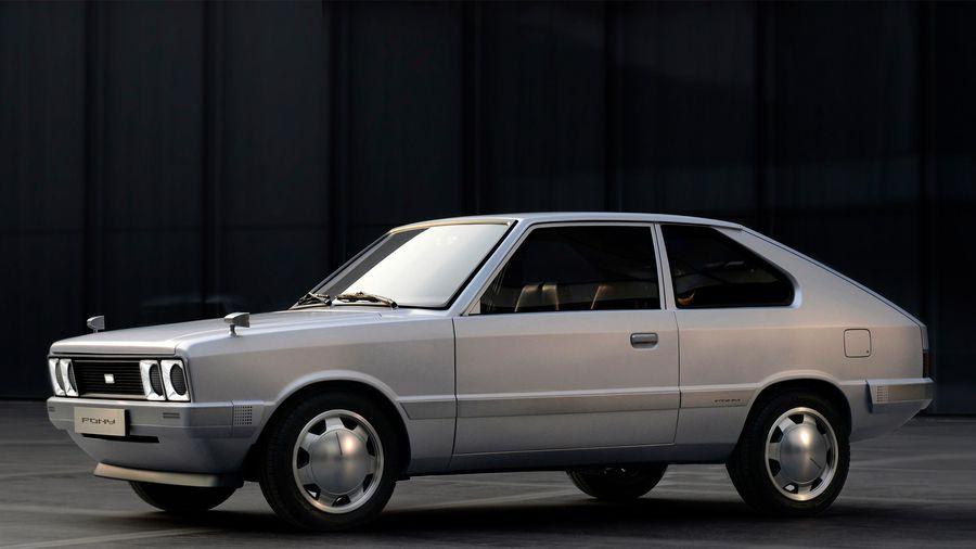 Chi tiết Hyundai Pony EV - xe điện theo phong cách hoài cổ