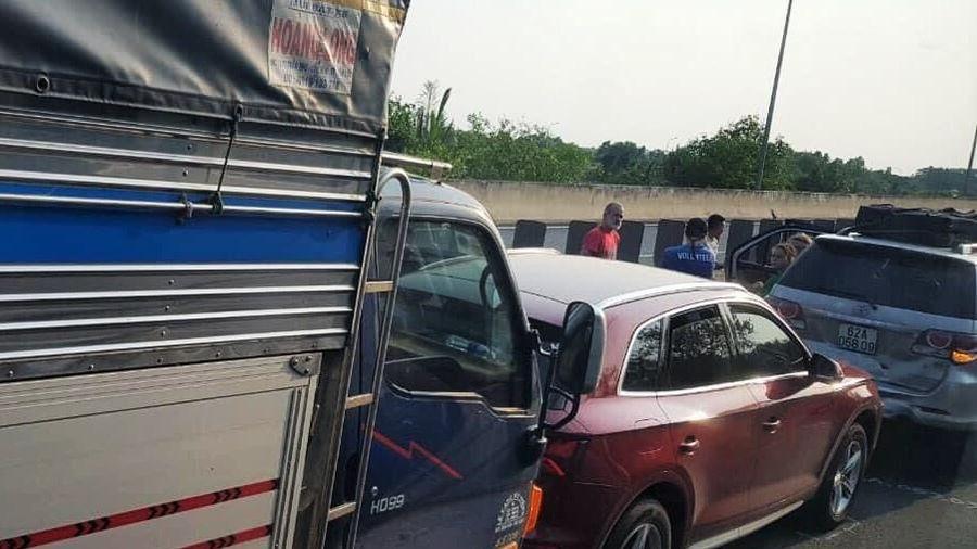 Tạm đóng cửa một chiều đường cao tốc Long Thành - Dầu Giây vì tai nạn