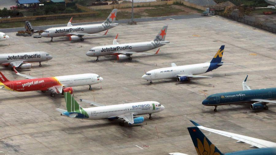 Việt Nam còn 39 máy bay nằm sân vì Covid-19