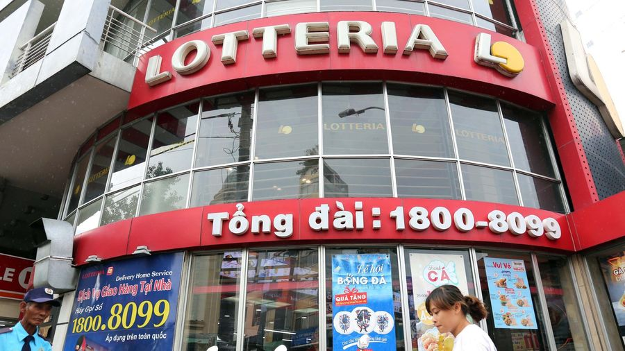 Chuỗi Lotteria vẫn tiếp tục kinh doanh ở Việt Nam