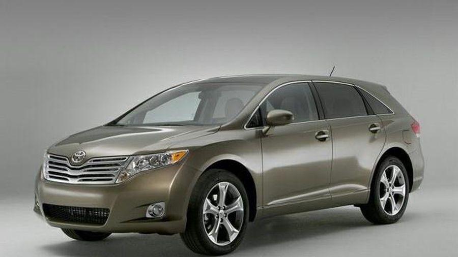 Toyota Venza đời 2009-2015 bị lỗi cảm biến túi khí