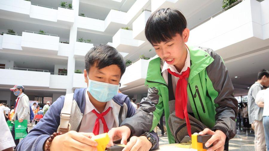 Sôi động ngày hội Toán học mở - MOD 2021