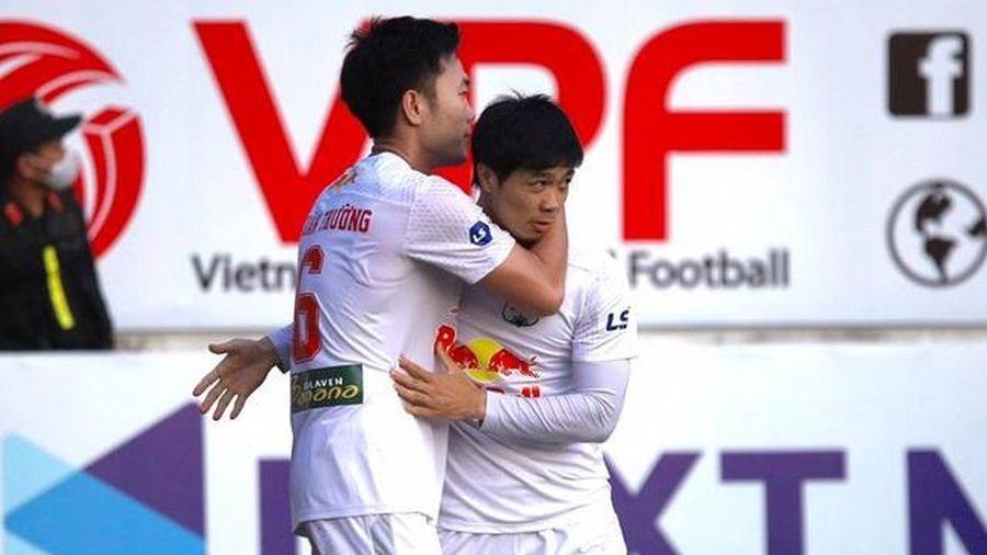Lập tuyệt phẩm giúp Hoàng Anh Gia Lai đả bại Hà Nội FC, Xuân Trường bật khóc