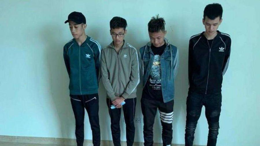 Vụ nhóm thanh niên cầm hung khí náo loạn quận Hà Đông: 4 đối tượng bị khởi tố là ai?