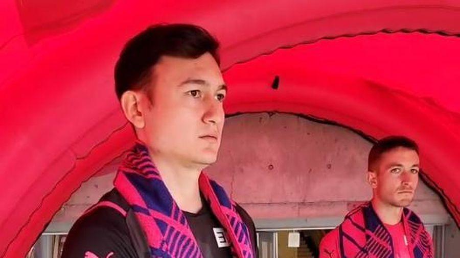 Thủ môn Đặng Văn Lâm ra mắt đội bóng Nhật