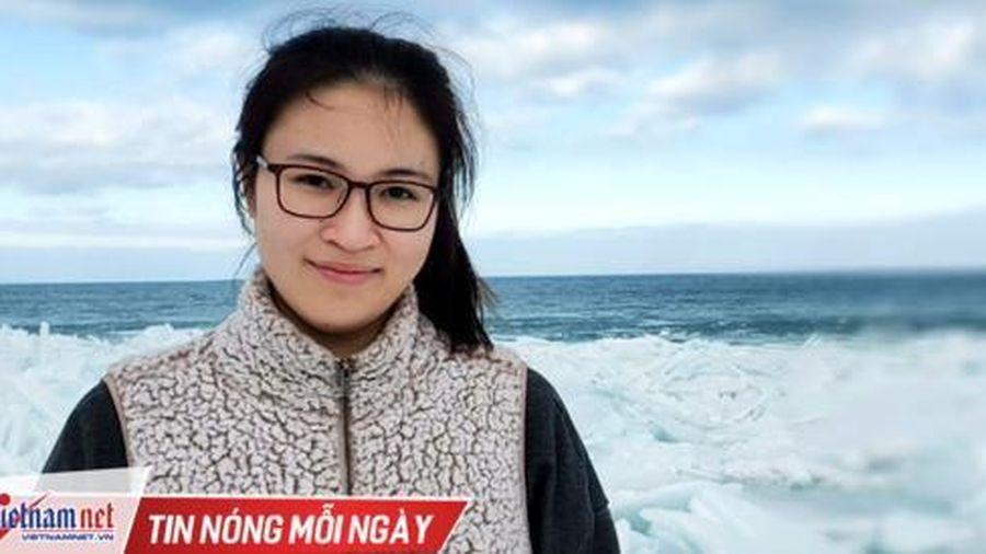 Nghiên cứu về sông Tô Lịch giúp cô gái 22 tuổi vào thẳng tiến sĩ tại Mỹ