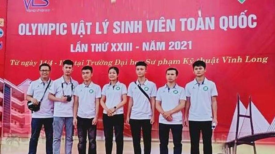 Sinh viên Hà Tĩnh xuất sắc giành 2 giải nhất Cuộc thi Olympic Vật lý toàn quốc