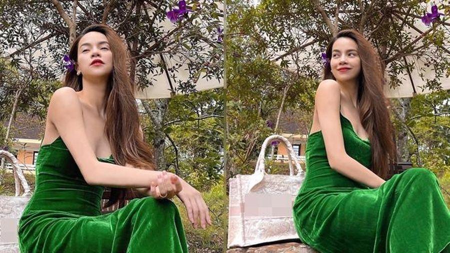 'Trốn chạy' bố con Kim Lý - Lisa - Leon, Hà Hồ xinh đẹp bất chấp với dép bệt đơn giản