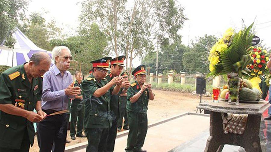 Khánh thành Bia tưởng niệm liệt sĩ Trung đoàn 174 hy sinh tại Đắk Tô - Tân Cảnh