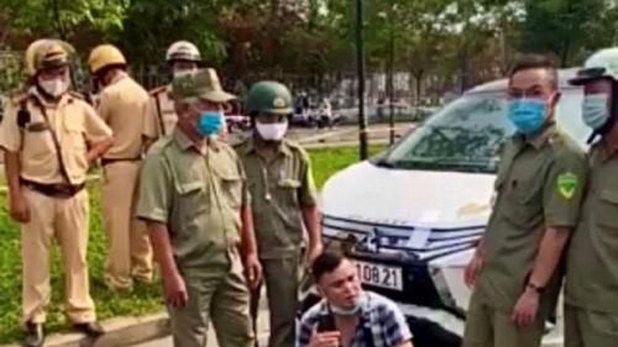 Chống đối người thi hành công vụ, 'cựu đại úy công an' Lê Chí Thành sẽ bị xử lý thêm tội?