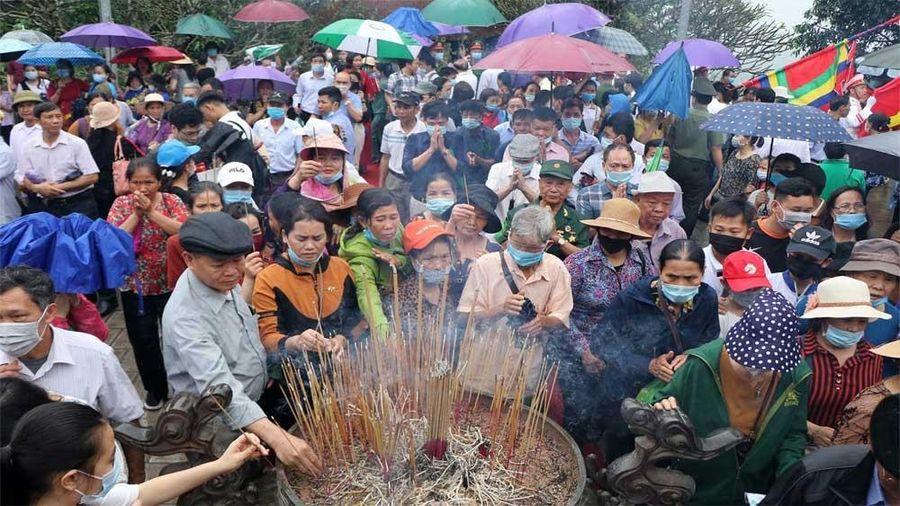Phú Thọ: Đón hơn 60 nghìn lượt khách thập phương về tri ân công đức Vua Hùng