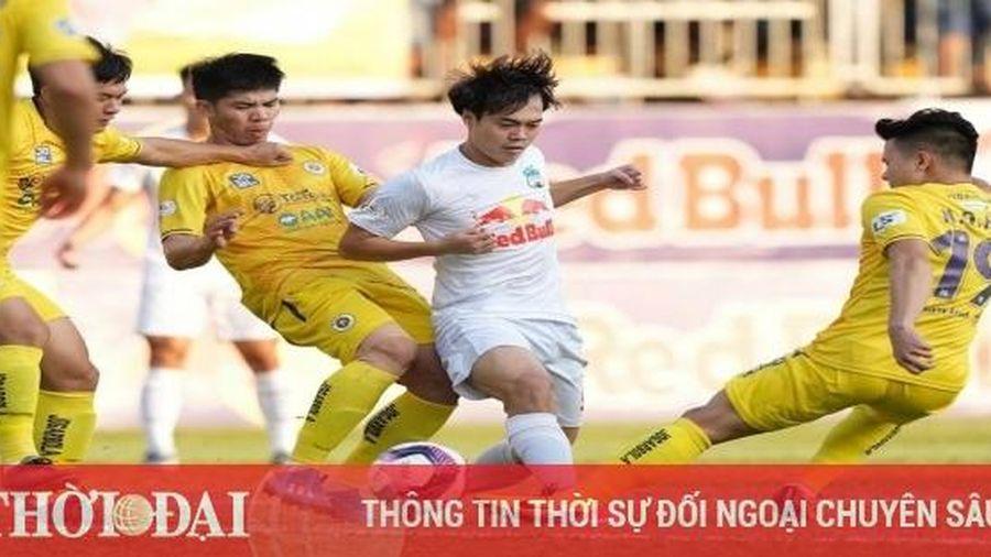 Kết quả, Bảng xếp hạng V-League 2021 (18/4): HAGL bá đạo ngôi số 1, Hà Nội bị vắng khỏi top 6