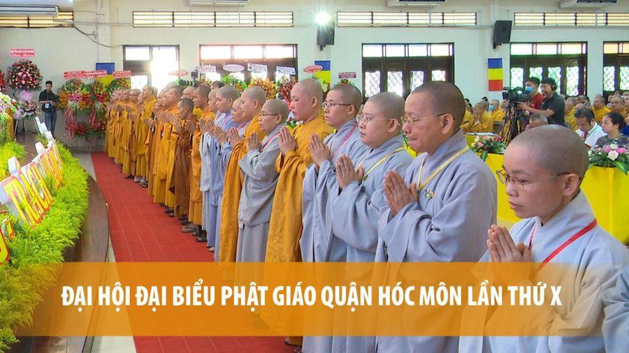 Đại hội đại biểu Phật giáo huyện Hóc Môn lần thứ X thành công tốt đẹp