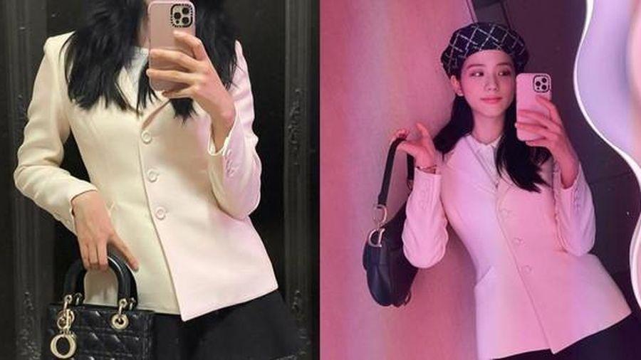 Jisoo BLACKPINK đăng ảnh selfie, mặc đồ đơn giản nhưng đúng chuẩn 'đại sứ thương hiệu'