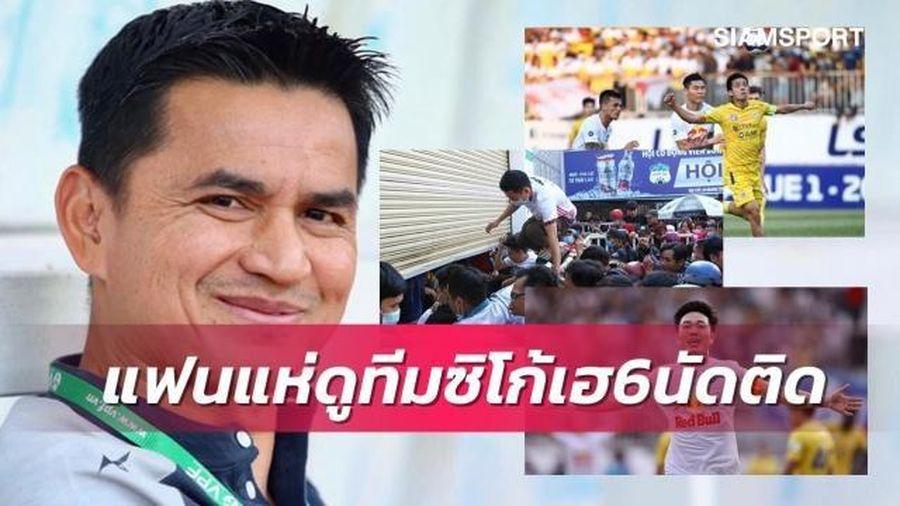 Báo Thái Lan: HAGL của Kiatisak đang rất 'hot'