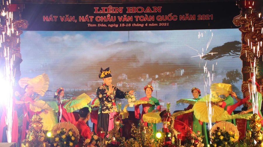 Gần 100 tiết mục tham gia Liên hoan hát Văn, hát Chầu văn toàn quốc năm 2021