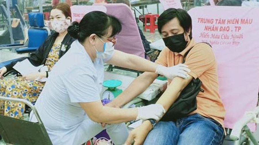 Quận Gò Vấp, TP HCM: CNVC-LĐ tình nguyện hiến máu cứu người