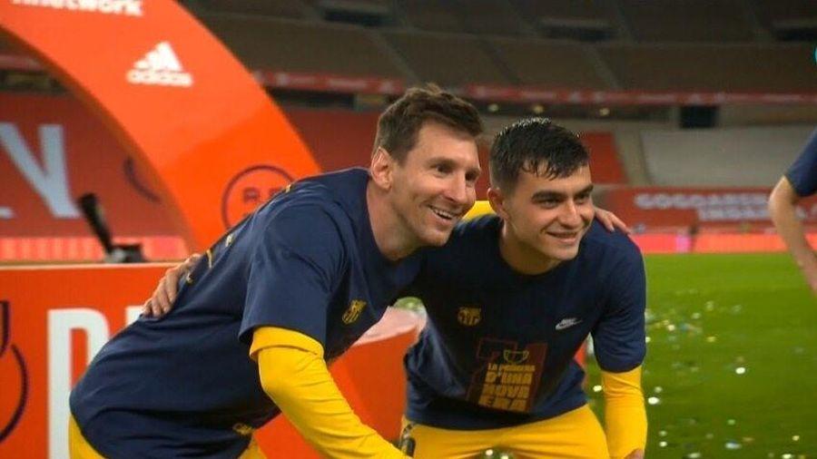 'Tín hiệu' Messi rời Barca?