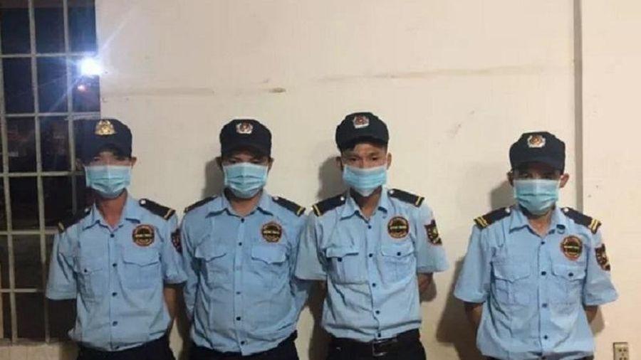 Phát hiện 4 nhân viên bảo vệ ở Đồng Nai 'phê' ma túy trong ca trực