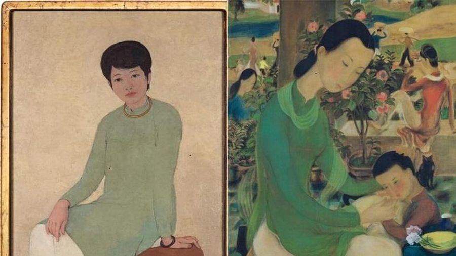 Chiêm ngưỡng những bức tranh cán mốc triệu USD của họa sĩ Việt