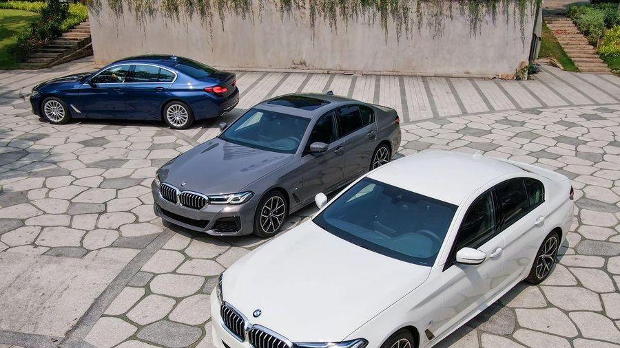 BMW 5-Series 2021 về Việt Nam, giá từ 2,5 tỉ đồng