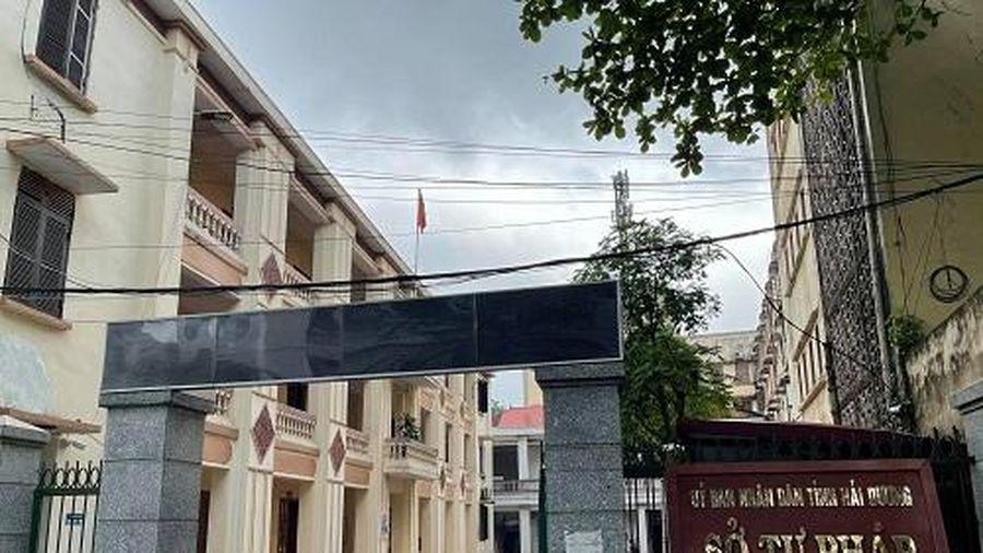 Thanh tra việc thu, quản lý sử dụng các nguồn kinh phí tại Sở Tư pháp tỉnh Hải Dương