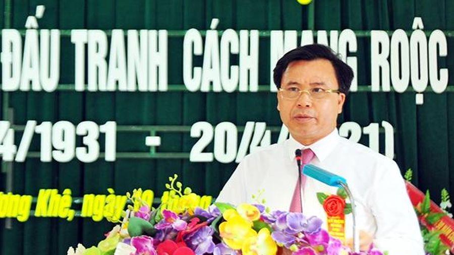 Tinh thần cuộc đấu tranh cách mạng Rôộc Cồn tiếp sức cho Hương Khê tiến bước