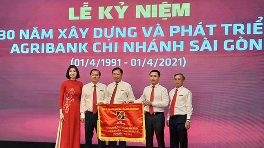 Agribank chi nhánh Sài Gòn kỷ niệm 30 năm thành lập