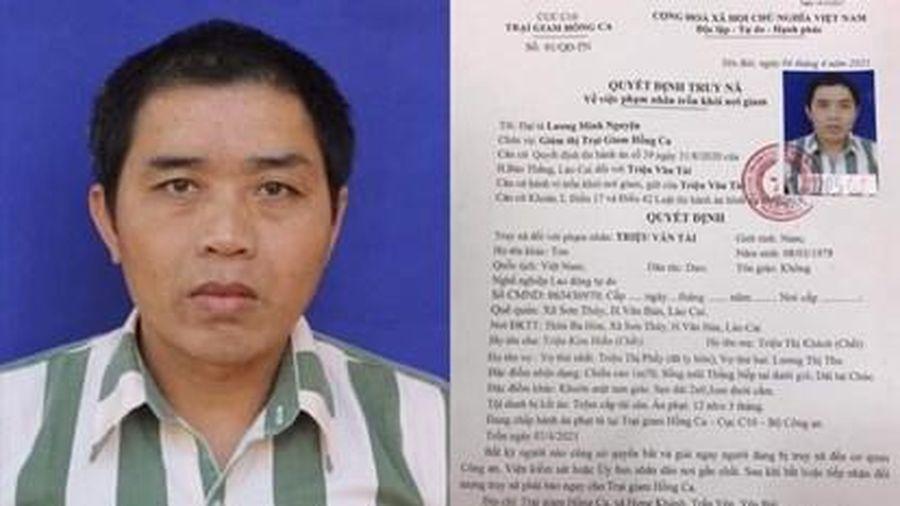 Phạm nhân vượt ngục ở Yên Bái: Huy động hơn 200 cảnh sát truy bắt