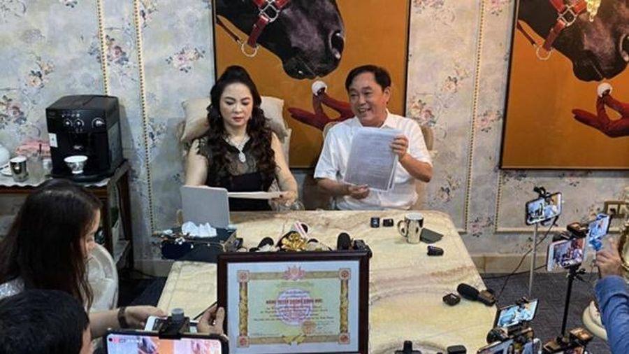 Ông Dũng 'lò vôi' tuyên bố sẽ trả lại giấy khen cho Bình Thuận, chỉ giữ lại giấy xử phạt làm kỷ niệm